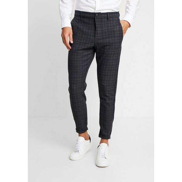 Gabba PISA REDUE PANTS Spodnie materiałowe grey check G5022E00Y