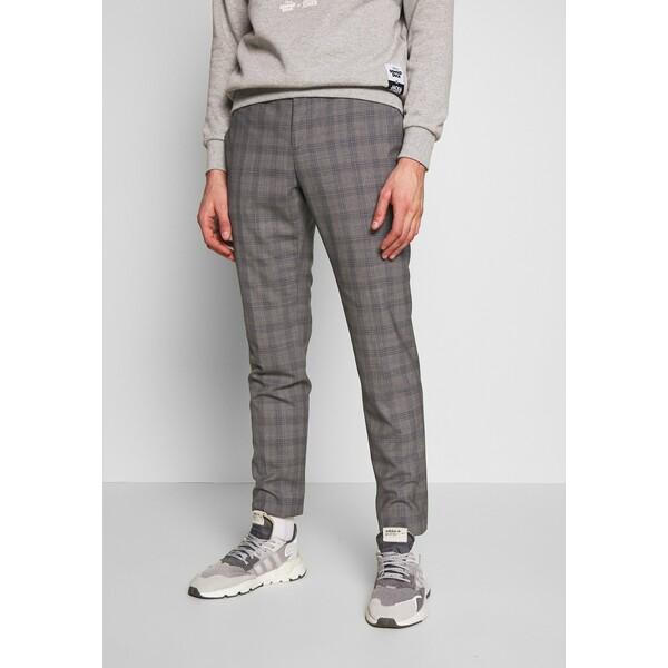 Calvin Klein Tailored CHECK EXTRA FINE PANTS Spodnie materiałowe grey CAR22E00F