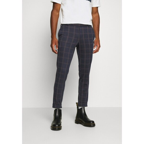 Only & Sons ONSELIAS CHECK PANTS Spodnie materiałowe dress blues OS322E07R