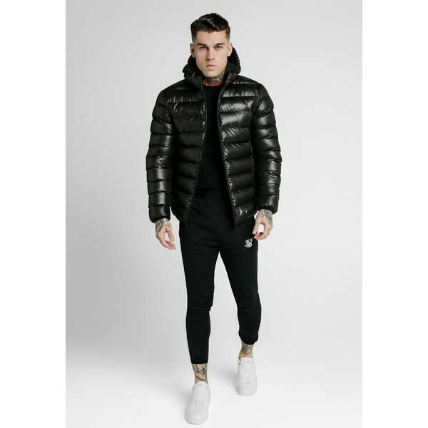 SIKSILK ATMOSPHERE JACKET Kurtka zimowa black SIF22T022