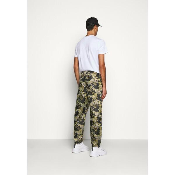 Versace Jeans Couture RISTOP LOGO BAROQUE Spodnie treningowe nero VEI22E00G