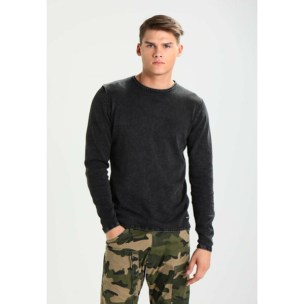 Only & Sons ONSGARSON WASH CREW NECK Sweter black OS322Q04Q