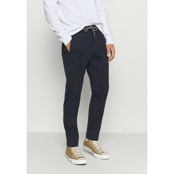 Tommy Hilfiger Tailored FLEX TRACK SLIM FIT PANT Spodnie materiałowe blue T1022E03Q