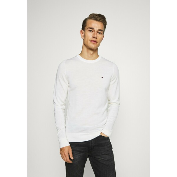 Tommy Hilfiger Tailored Sweter white T1022Q01C