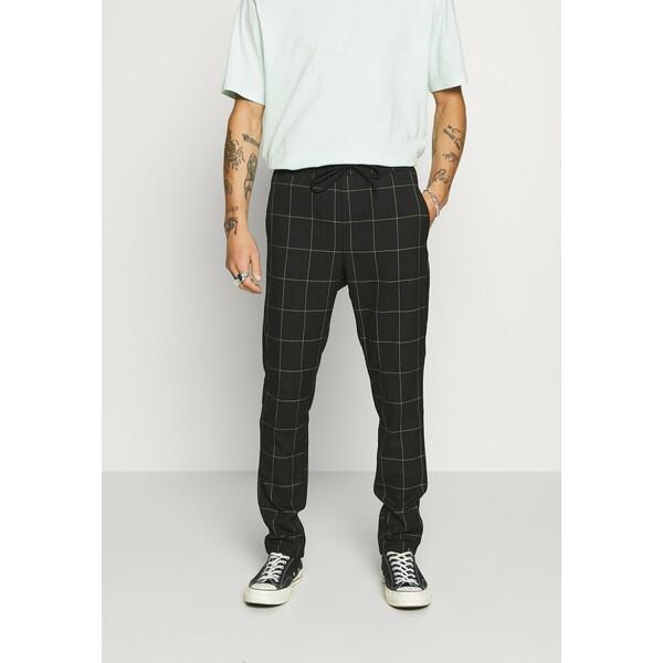 Only & Sons ONSLINUS LONG CHECK Spodnie materiałowe black OS322E09Q