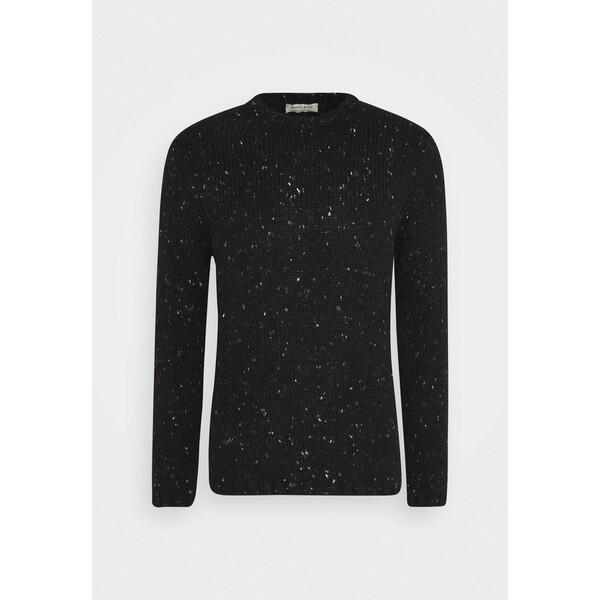 Wool & Co Sweter schwarz WOJ22Q007