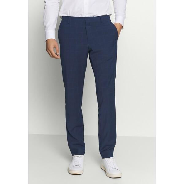 Tommy Hilfiger Tailored FLEX SLIM FIT CHECK PANT Spodnie garniturowe black T1022E03O