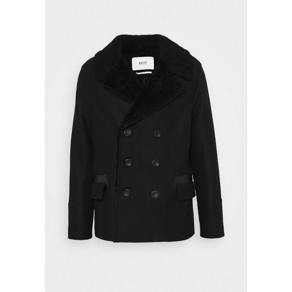 Bally Płaszcz wełniany /Płaszcz klasyczny black 23B22T00N