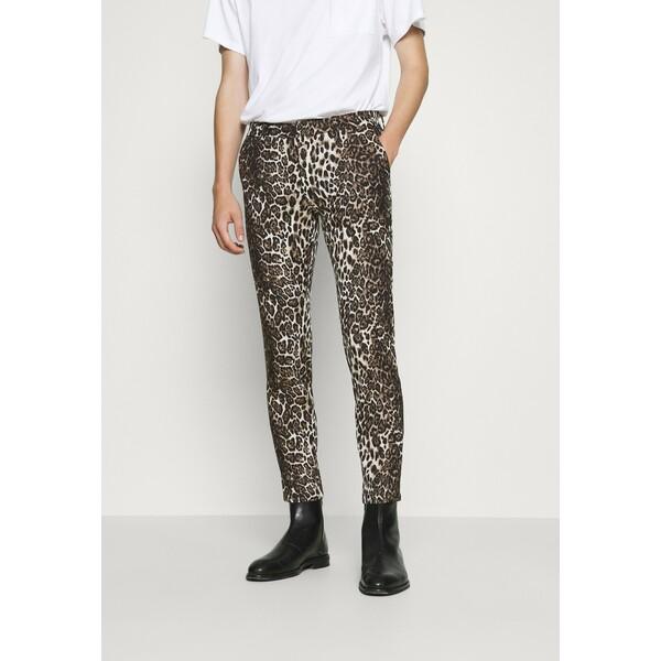 DRYKORN SIGHT Spodnie materiałowe braun DR222A041