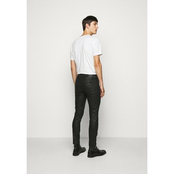 DRYKORN SLICK Spodnie materiałowe black DR222E03M