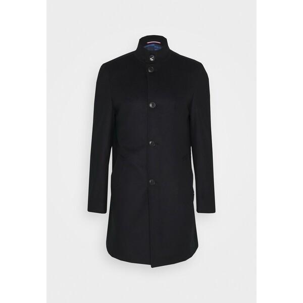 Tommy Hilfiger Tailored SOLID STAND UP COLLAR COAT Płaszcz wełniany /Płaszcz klasyczny blue T1022T016