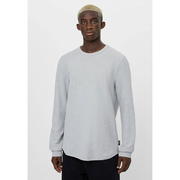Bershka MIT OTTOMANSTRUKTUR Sweter grey BEJ22Q01W