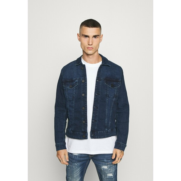 Only & Sons ONSCOME LIFE TRUCKER Kurtka jeansowa blue denim OS322T09P