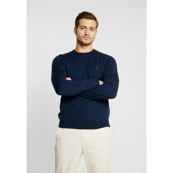 Calvin Klein Tailored Sweter blue 6CA22Q01D