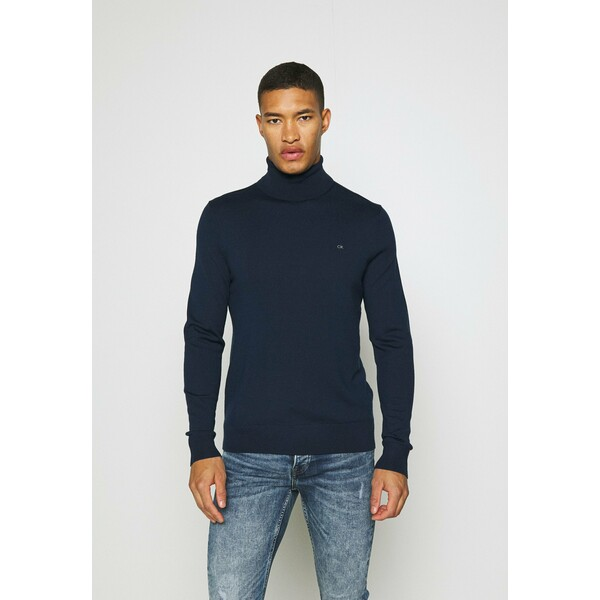 Calvin Klein Tailored Sweter blue 6CA22Q01C