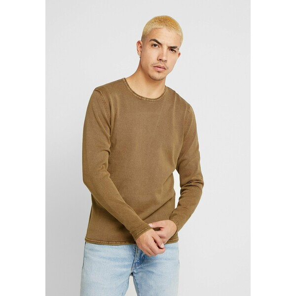 Only & Sons ONSGARSON WASH CREW NECK Sweter maroon OS322Q06H