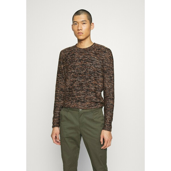 Only & Sons ONSCAM CREW NECK Sweter brown OS322Q0B9