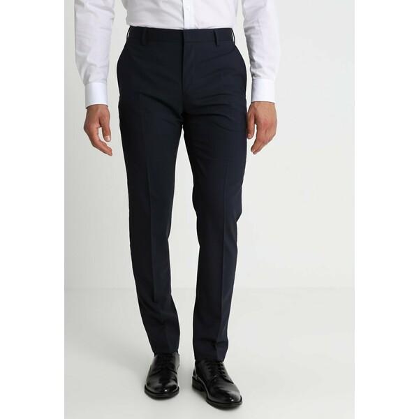 Tommy Hilfiger Tailored Spodnie garniturowe navy T1022A03V