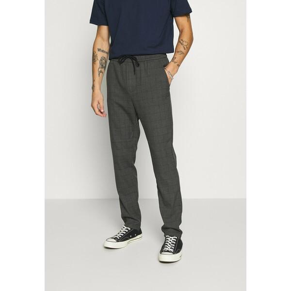 Only & Sons ONSLINUS LONG CHECK Spodnie materiałowe medium grey melange OS322E09Q