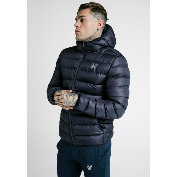 SIKSILK ATMOSPHERE JACKET Kurtka zimowa navy SIF22T026