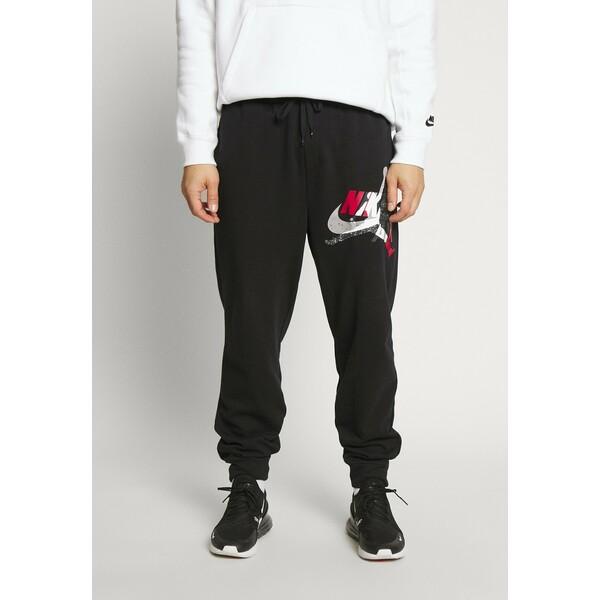 Jordan M J JUMPMAN CLSCS LTWT PANT Spodnie treningowe black/gym red/white JOC22E00S