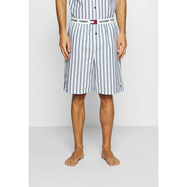 Tommy Hilfiger STRIPE Spodnie od piżamy blue TO182L010