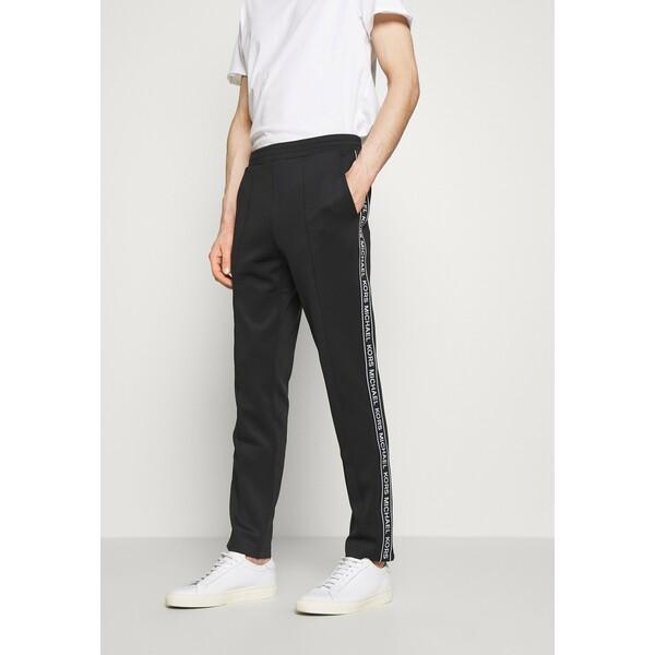 Michael Kors STREET LOGO PANTS Spodnie treningowe black 1MI22E023