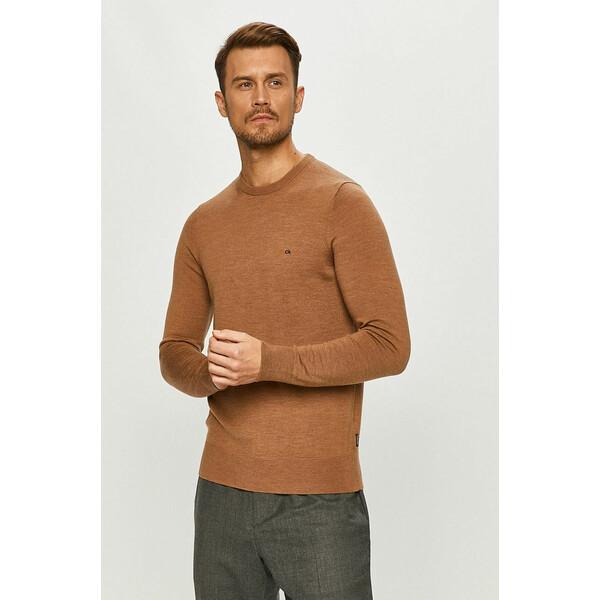 Calvin Klein Sweter wełniany 4920-SWM02F