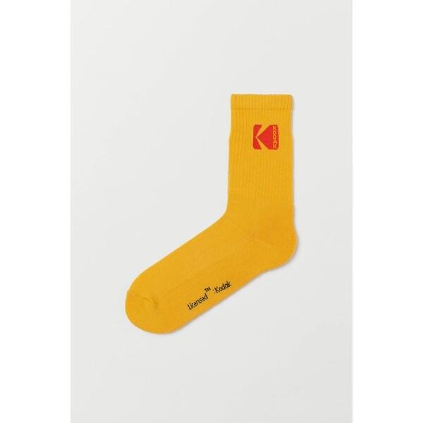H&M Skarpety 0706270141 Pomarańczowy/Kodak