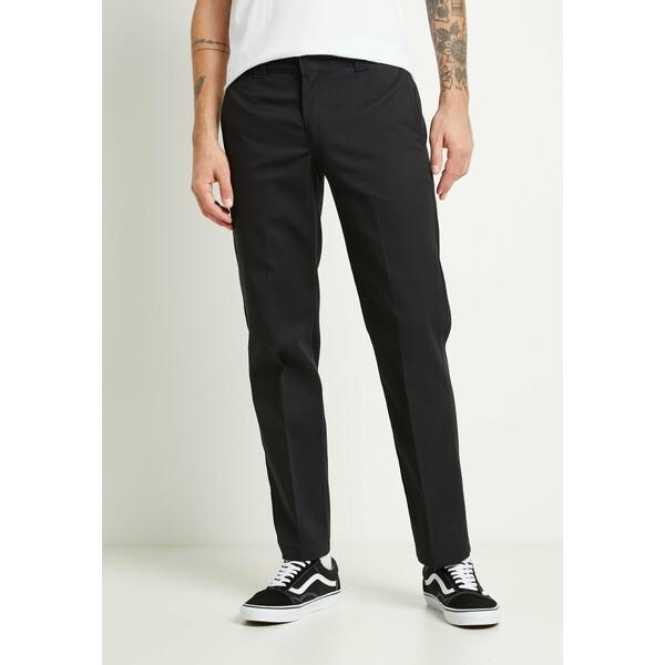 Dickies SLIM STRAIGHT WORK PANT Spodnie materiałowe black DI622E01G