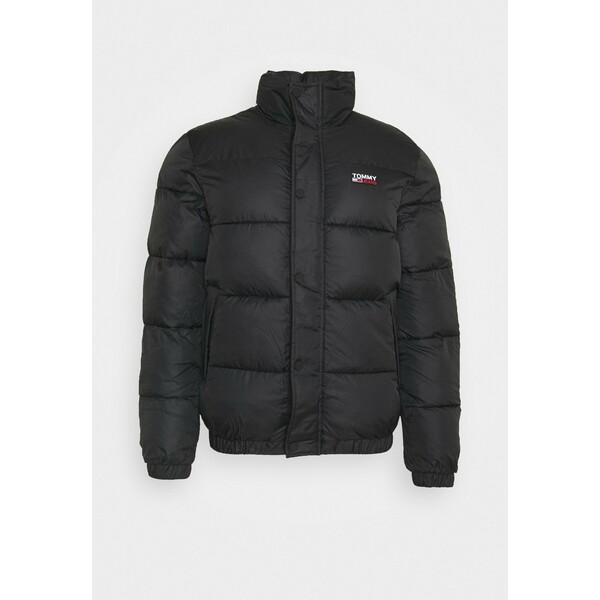 Tommy Jeans CORP JACKET Kurtka zimowa black/black TOB22T058
