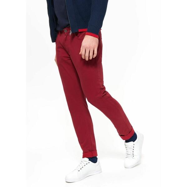 Top Secret spodnie z nadrukiem slim fit SSP3154