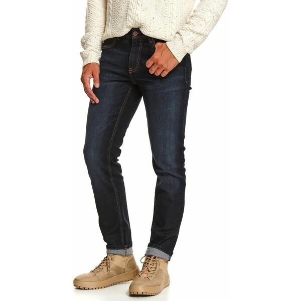 Top Secret spodnie denimowe slim SSP3595