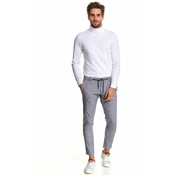 Top Secret spodnie z tkaniny strukturalnej z wiązaniem SSP3614