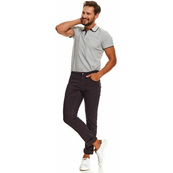 Top Secret spodnie z fakturą o kroju regular SSP3600