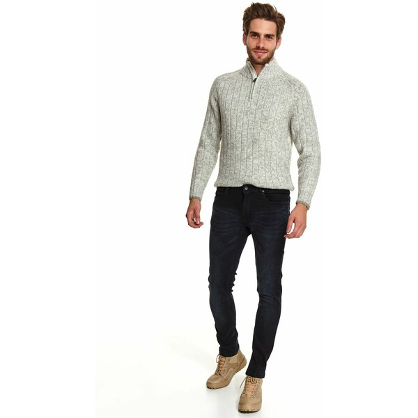 Top Secret spodnie denim slim fit SSP3613
