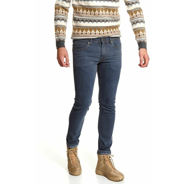 Top Secret spodnie denim slim fit SSP3629