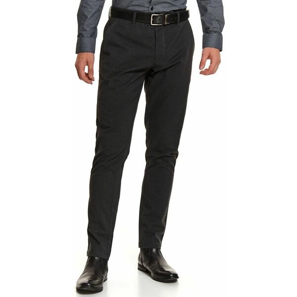 Top Secret spodnie chino w drobną kratę SSP3667