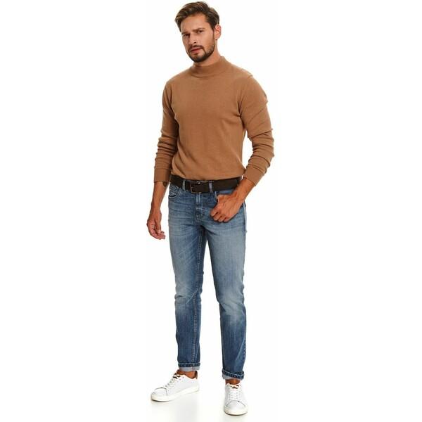 Top Secret spodnie denimowe slim fit SSP3594