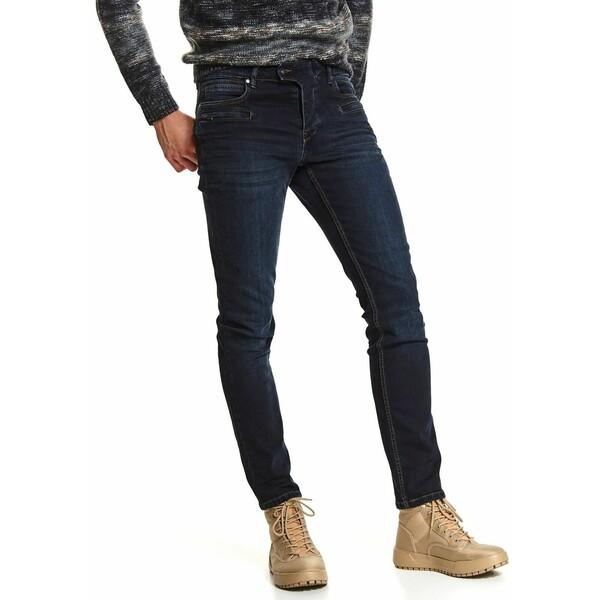 Top Secret spodnie denim o kroju slim SSP3628