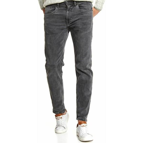 Top Secret spodnie denim o klasycznym opraniu regular SSP3611