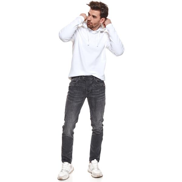 Top Secret spodnie denim o kroju slim SSP3630