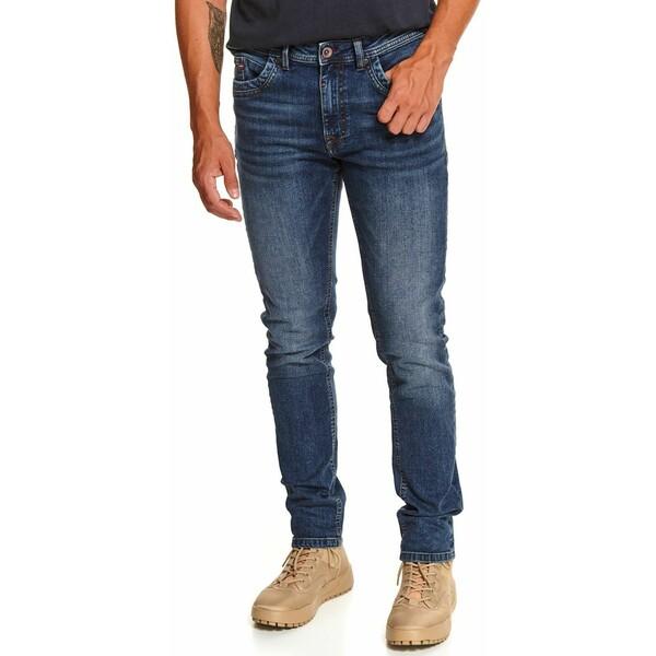 Top Secret spodnie denim o kroju slim SSP3605
