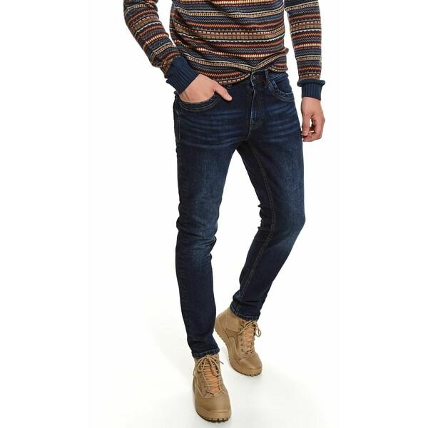 Top Secret spodnie denim o kroju slim SSP3649