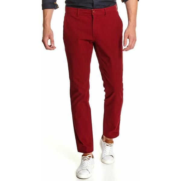 Top Secret spodnie chino strukturalne o kroju slim SSP3519