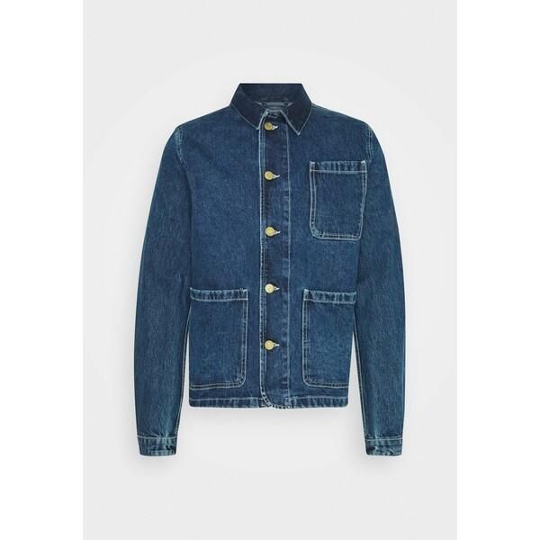 Jack & Jones JJILUCAS JJJACKET Kurtka jeansowa blue denim JA222T0LM