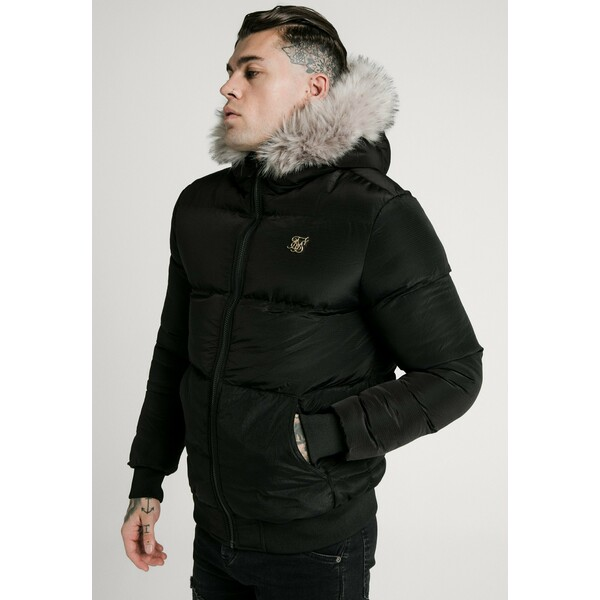 SIKSILK DISTANCE JACKET Kurtka zimowa black SIF22T021