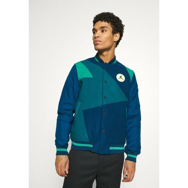 Jordan Kurtka Bomber valerian blue/geode teal/neptune green JOC22T00Y
