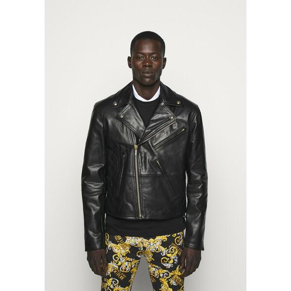 Versace Jeans Couture Kurtka skórzana nero VEI22T015