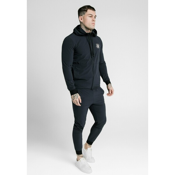 SIKSILK AGILITY ZIP THROUGH HOODIE Kurtka wiosenna midnight navy SIF22S03U